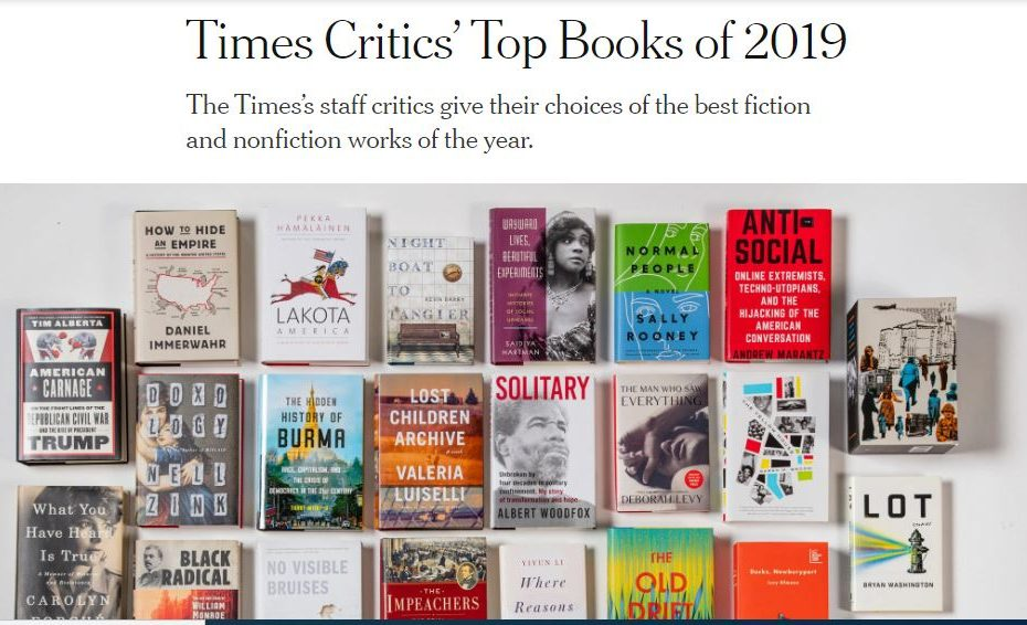 Top books of the year
